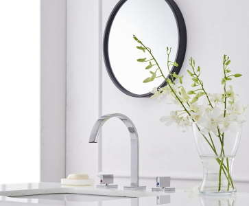 Bathroom Vanity Widespread Lavatory Faucet